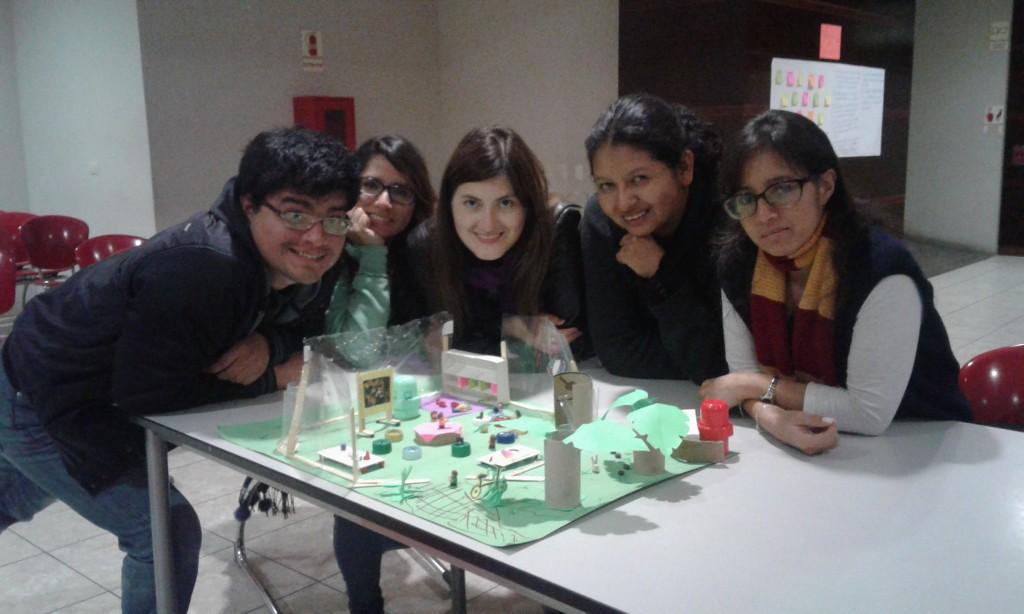 """Prototipo: """"Escuela Abierta"""". Espacios de Aprendizaje"""
