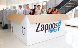 Empresa Zappos y su organización en red